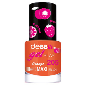 Gel Play Nail Enamel 205, Orange
