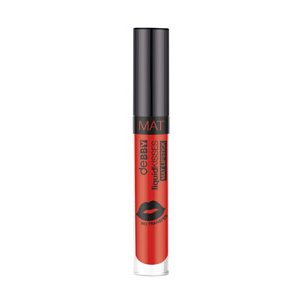 Liquidkissed Mat Lipstick, 07, Fire Red
